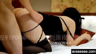 Fucking Chinese girlfriend with beautiful butt