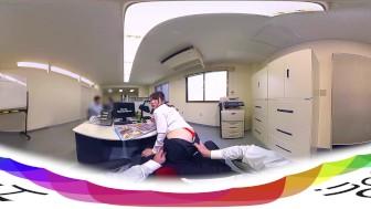 HoliVR 360VR _ JAV VR : Japanese Office Power Harassment
