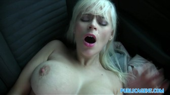 Public Agent Vacationing Italian babe fucked in car by local