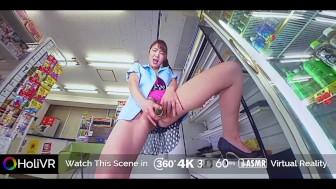 HoliVR _ JAV VR : Private Sex Video Leaked- Megumi Shino