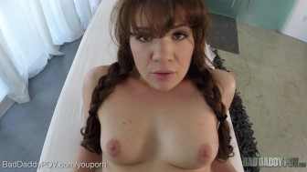 Step Daughter, Alison Rey, Massages Whatever Pops Up