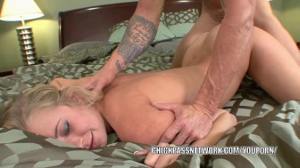 Blonde hottie Casi James takes some dick in her hot pussy