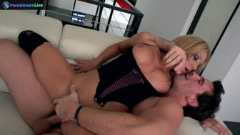 Fetching babe Amy Brooke in a kinky wild hardcore sex