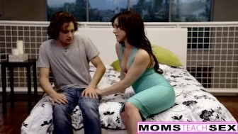 this mothers day she wants step-son and creampie incest