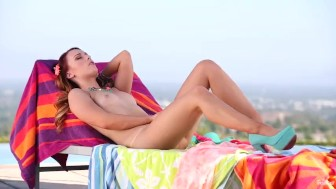 Twistys -Tropical day off, solo videos with Dani Jensen