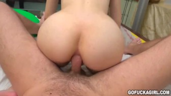 GOFUCKAGIRL - Anal shenanigans with freshman Stephanie Moon