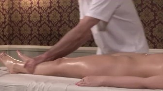 Her First Nuru Massage