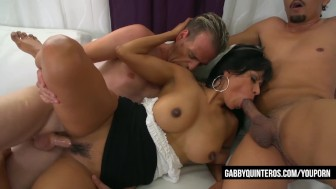 Nympho Mexican Gabby Quinteros Gets Fucked By Students!