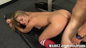 WANKZ- Candice Dare Has Sex With Random Dude