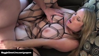 Fully Figured Maggie Green s FIRST FUCK in this Classic Vid!