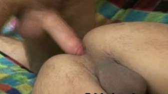 Gay Couple Anal Sex and Felching