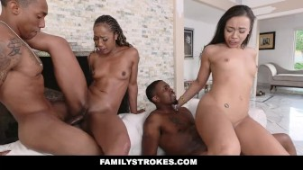 FamilyStrokes - Family Reunion Turns Into Fucking Competition