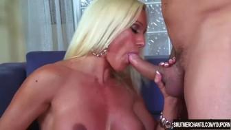 Blonde pornstar fucked