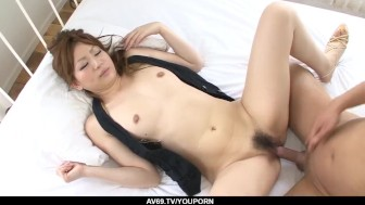 Wife Yukina Momose amazing sex in bed with a stranger