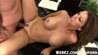 WANKZ- Horny Big Titty Raquel In Office