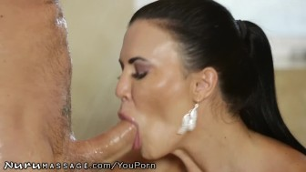 NuruMassage Jasmine Jae Cheats with Hubbys Friend!