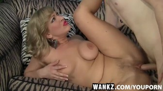 WANKZ- Naughty Milf Vicky Vixen Sucks And Fucks