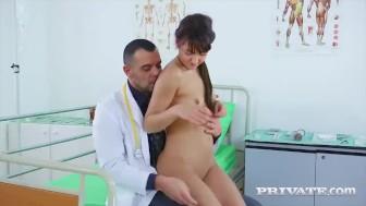 Student Nurse Suzy Rainbow Fucks the Cardiologist...