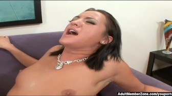 AdultMemberZone – Contest turns into a threesome for this lucky dick.