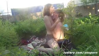 Naturist Outdoor Fucking in Public