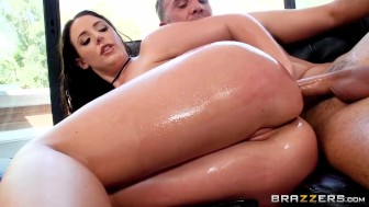 Big Tit, Big Ass Milf Gets Anal Surprise - Brazzers