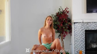 PASSION-HD Lilly Ford massage fuck with hefty cum load swallowed