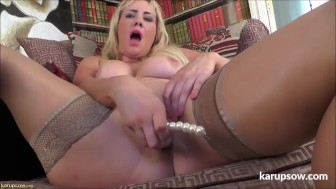 Big Titted MILF Toy Masturbation