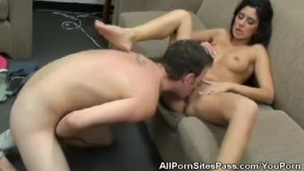 Stripping Nikki Daniels Gets Fucked