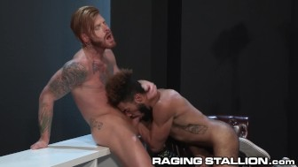 RagingStallion Bennett Fucks him to Explosive Cum