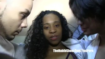 Mixed teen swallow slobs bbc slimpoke deep in her pussy - 3 part 2