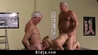 Jew broad licks dirty asshole and fucks on camera - 3 part 8