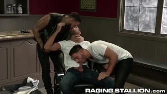 RagingStallion 3 Hairy Jocks with Meaty Cocks