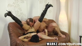 wankz- gutlina gets brains penetrated out