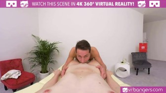 VR PORN- ANNA SWIX- FUCKING ON THE MASSAGE TABLE AND BLOWJOB