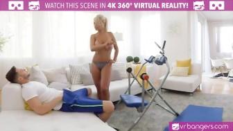 vr porn-bridgette b cute mom having sex with the pool boy