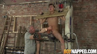 Ashton Bradley has fetish bondage sex with Justin Blaber