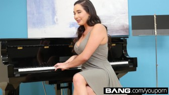 BANG Confessions  Karlee Grey Squirts For Her Piano Teacher