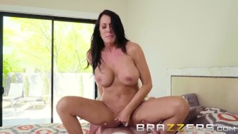 Shy Big Tit Milf Wants To Fuck Her Son's Friend - Brazzers