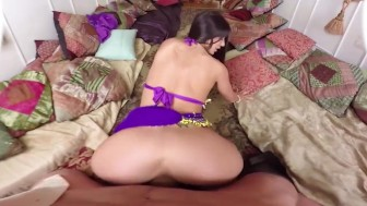 VR PORN-Hot Moroccan beauty pleasure's your dick