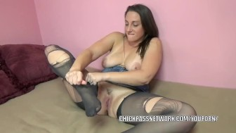 Yanks midori fucks herself with her dildo - 1 1