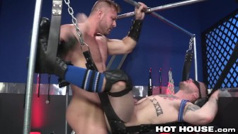 Austin Wolf Slams Blindfolded Colton on Sex Swing