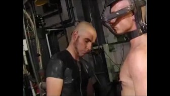 electricity, rubber boots, sling, waders, caged head.mp4