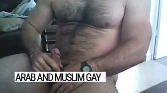 Powerful stallion, muslim beast: when Sameer takes off his uniform, he longs for Arab gay tight holes