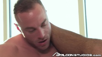FalconStudios Muscular Latino Seth Santoro has Hot Hotel Sex