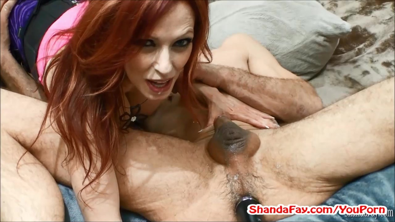 Original Video Hosted By Shanda Pegs Stud In Ass With HUGE Vibrator!